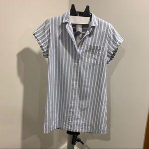 J-Crew Linen T-Shirt Dress